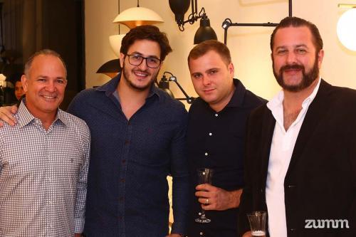 Kleison, Thiago Ribeiro, Junior Furco e Alexandre Pacheco