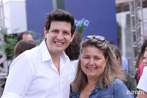 André Soares e Renata Pedreschi