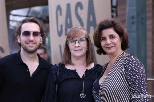 Bruno Ortega, Renata Buischi e Maria Tereza Loures