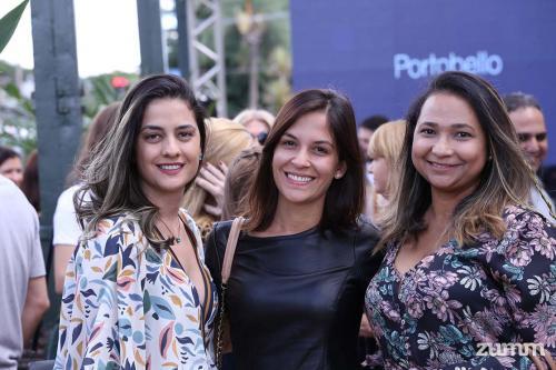 Larissa Laço, Isabella Davanço e Marilis Gomes