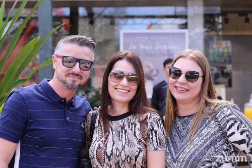 Mauro Silva, Alessandra Stocco e Lucéia Ambrozio