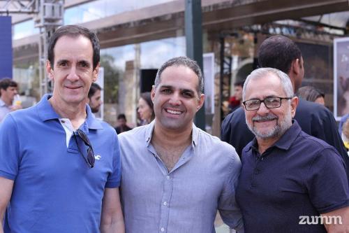 Sergio Coelho,Gustavo Murilo e Joel Pereira