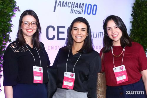 Carolina Fernandes Priscilla Rocha e Najila Jeha