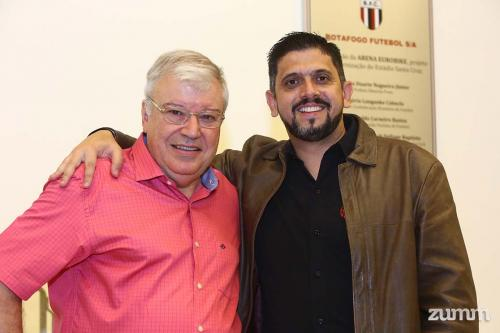 Alfredo Cristóvão e Dimitri Abreu