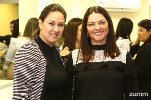 Gisele Junqueira e Marília Nicoluzzi