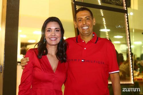 Renata e Leandro Caparroz