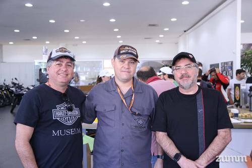 Gilberto Mistrão, Jeferson Sgarbosa e Sérgio Moretti