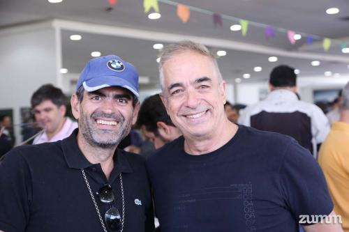 Rogério Alves e Dante Laurini