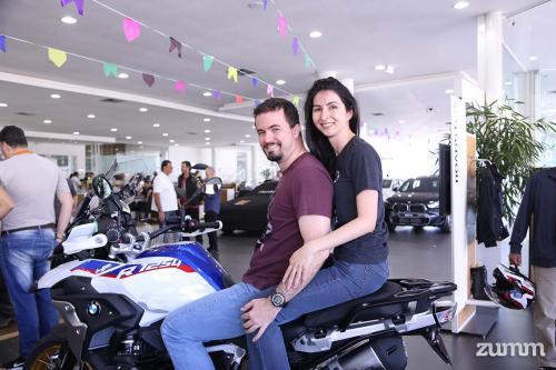 Lucas Marquesini e Renata Onuma