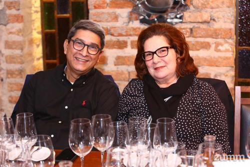 Agustín e Eliane Caballero