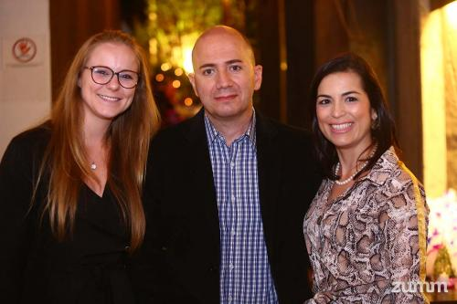 Julia Lindemann, Sérgio Mussolino e Sabrina Puglieri