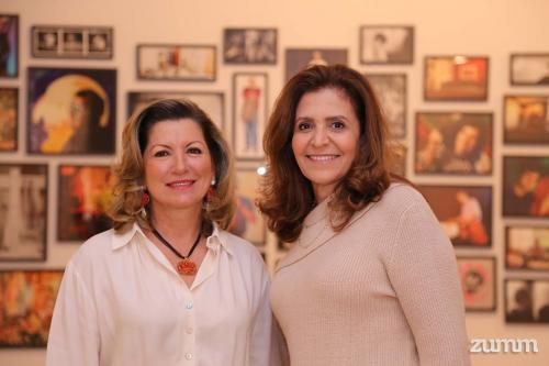 Mariangela Bistane, Villas Boas e Silvana Nour