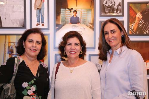 Gloria Paccola, Cassia Lopes e Ana Paula Said