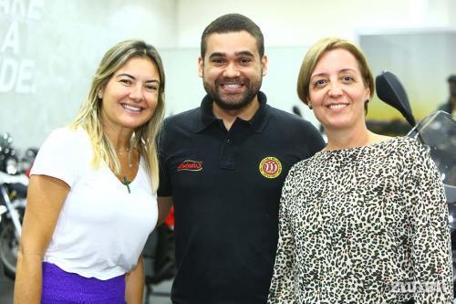 Fabiana Albuquerque, Thiago Anexo e Renata Kronka