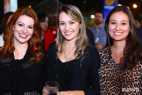 Luana Horácio, Michelle marinheiro e Julia Martins