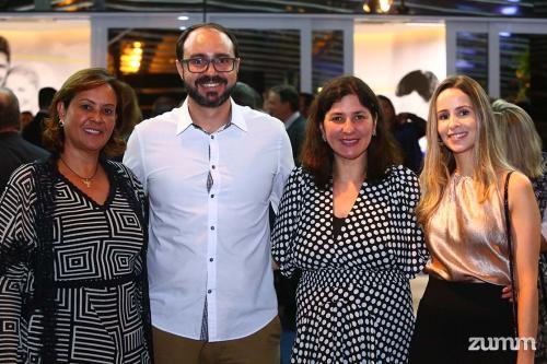 Marilda Moreno, Luciano Marangoni, Vânia Spoti e Thaisa Cassiani