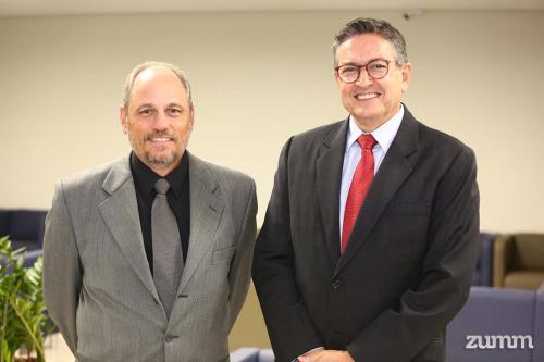 Ricardo Sgarbieri e José Miranda da Cruz Neto