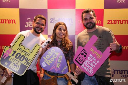 Gustavo Lima, Thayane Queiroz e Fernando Assis