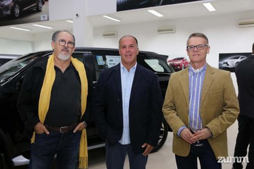 Moacir Mota, Fernando Rangel e Ricardo Marques