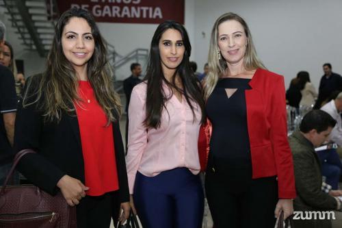Priscila Griffo, Evelyn Approbato e Flavia Silva