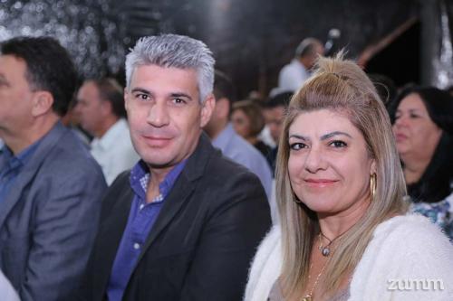 Sergio Mazza e Nara Capreti