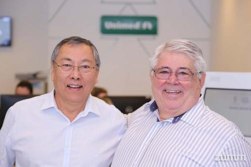 Kaoru Nakachima e Marcos Medeiros