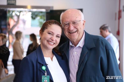 Jeanaiza Grigorenciuc e Dr Vicente Coutinho