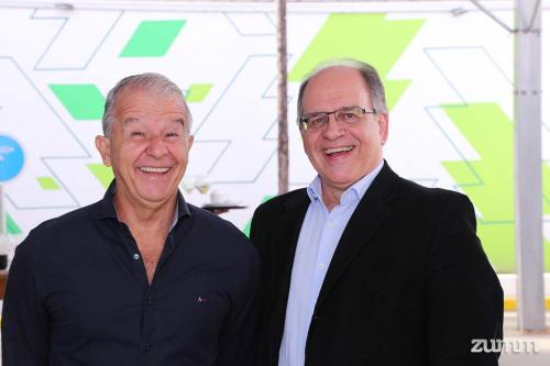 Dr Juvelcio Seixas e Dr Alvaro Nogueira