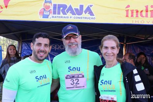 Alexandre Lima, Roberto Macedo e Vera Costa