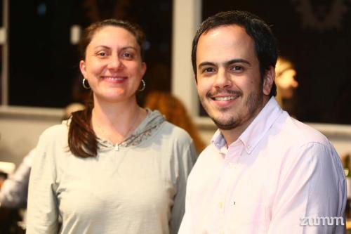 Graziele Ambrósio e Fábio Gama