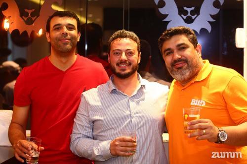 Rodrigo Alves, Thomaz Torres e Wellington Fernandes