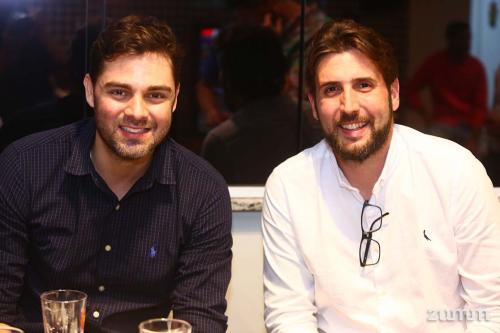 Samuel Leoncio e Bruno Abi Rached
