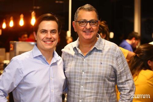 Thiago Faraco e Adilson Haddad