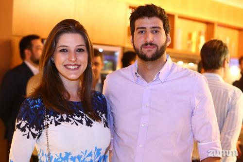 Nathalia Furlan e Tiago de Vicente
