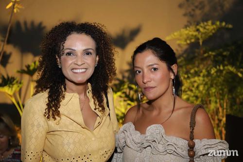 Horieta Santos e Diana Felix