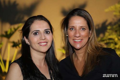 Leninha Justus e Ana Cristina Ramos
