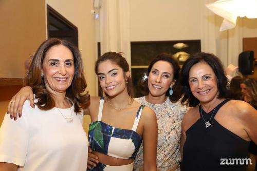 Ana Paula Said, Catarina Carolo, Cristina Carolo e Melinha Basile
