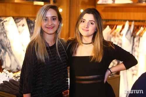 Amanda Lemos e Mariana Almeida