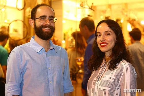 Fernando Gobbo e Larissa França