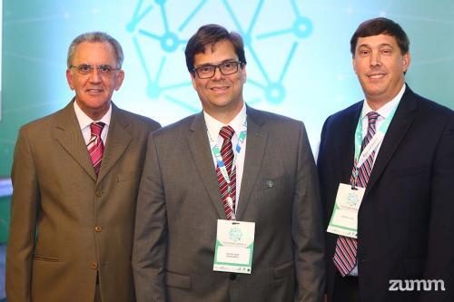 Fernando Nobre, Ricardo Lessa e Michael E. Hall