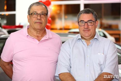 Milton Scavazini e Guaci Sibilli Leite