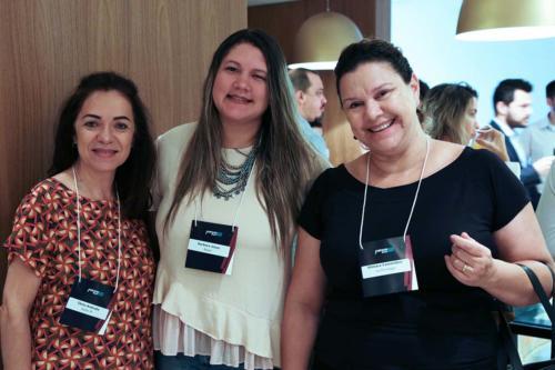 Tânia Andrade, Barbara Jesus e Silmara Cammilleri