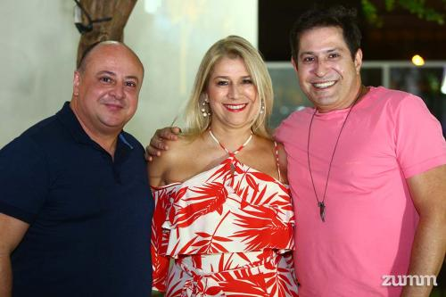 Luiz Sarachi, Fabiana Severo e Jeferson Elias