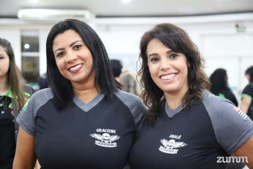 Graciene Marcos e Analu Scarpini