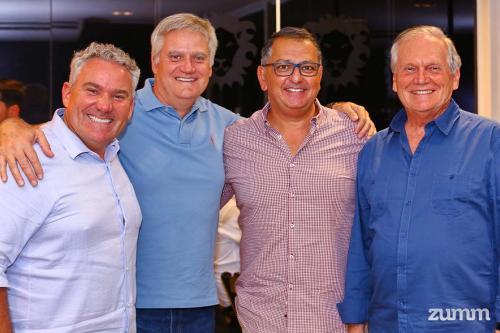 Digao, Vinho Guiao, Adilson Haddad e Rui Flávio Chufalo Guião