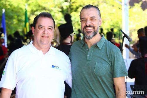 Paulo Cesar e Luciano Mega