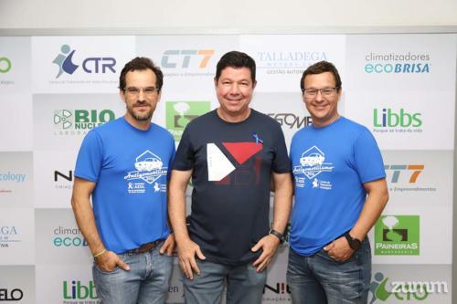 Dr. Harley Oliveira, Fernando Torres e Fábio Zola
