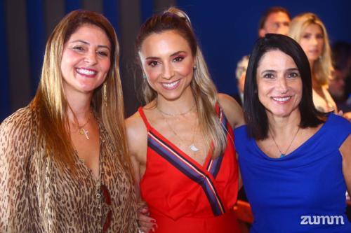 Carolina Yunes, Mariana Curi e Luiza Caram