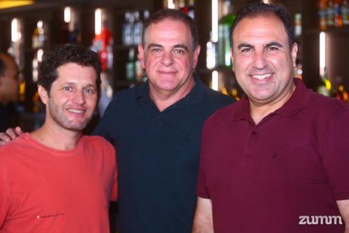 João Carlos Marchesan, Valdir Pavani e Fabiano Calil Colussi