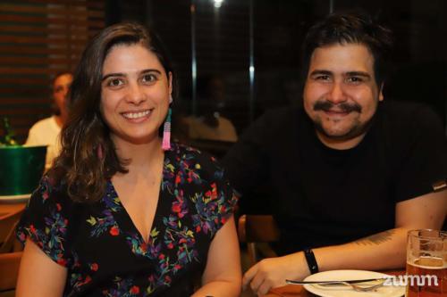 Mariana Nazario e Guilherme Tavares